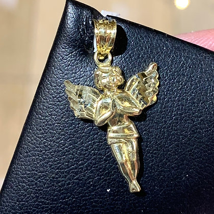 10k Angel pendant