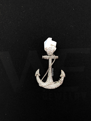 925 Sterling Silver Anchor Pendant