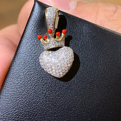Heart Crown Pendant