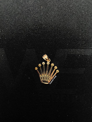 10K Rolex Crown Pendant