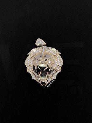 10K Lion Pendant