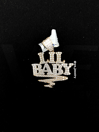 925 Sterling Silver Lil Baby Pendant