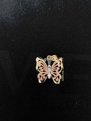 10K Tri-tone Butterfly