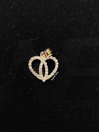 10K Heart Pendant