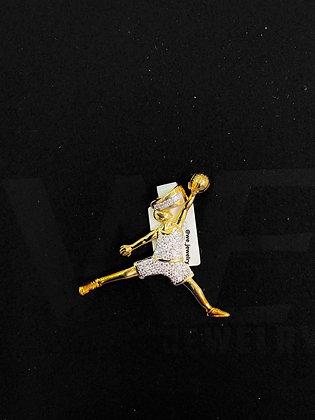 Jumpman Logo Pendant