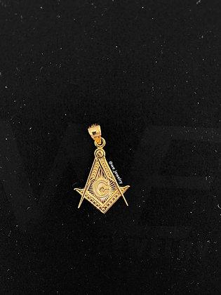 10K Freemasonry Pendant