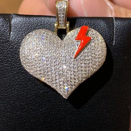 Flash Heart Pendant