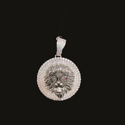 925 Sterling Silver  Lion Pendant
