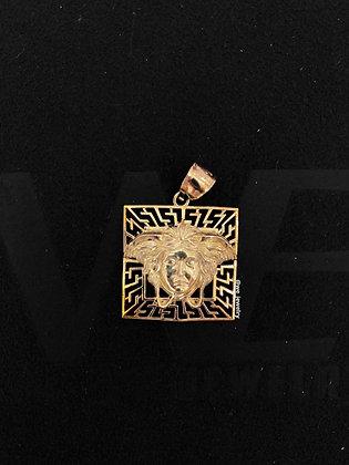 10K Versace Pendant