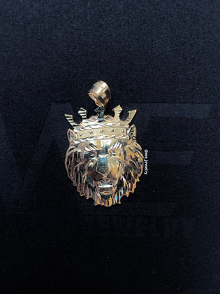 10K Plain Lion Pendant