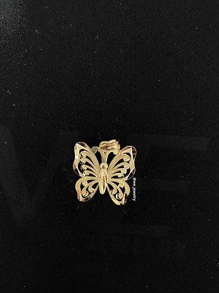 10K Monarch Butterfly Pendant