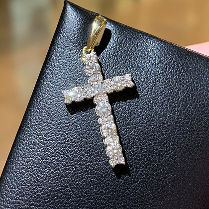 Micro Harvey Cross Pendant