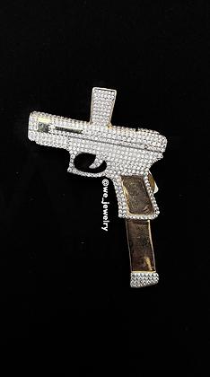 Pistol Gun Pendant