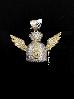 Wings Moneybag Pendant