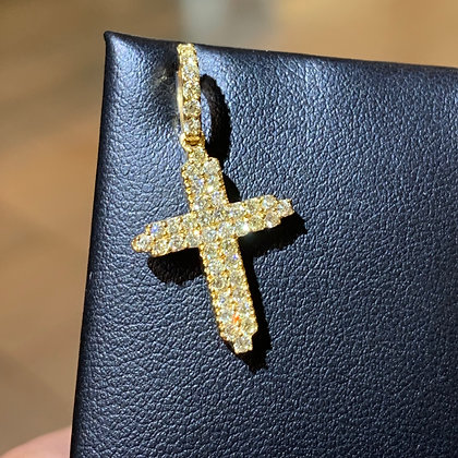 Micro Cross Pendant