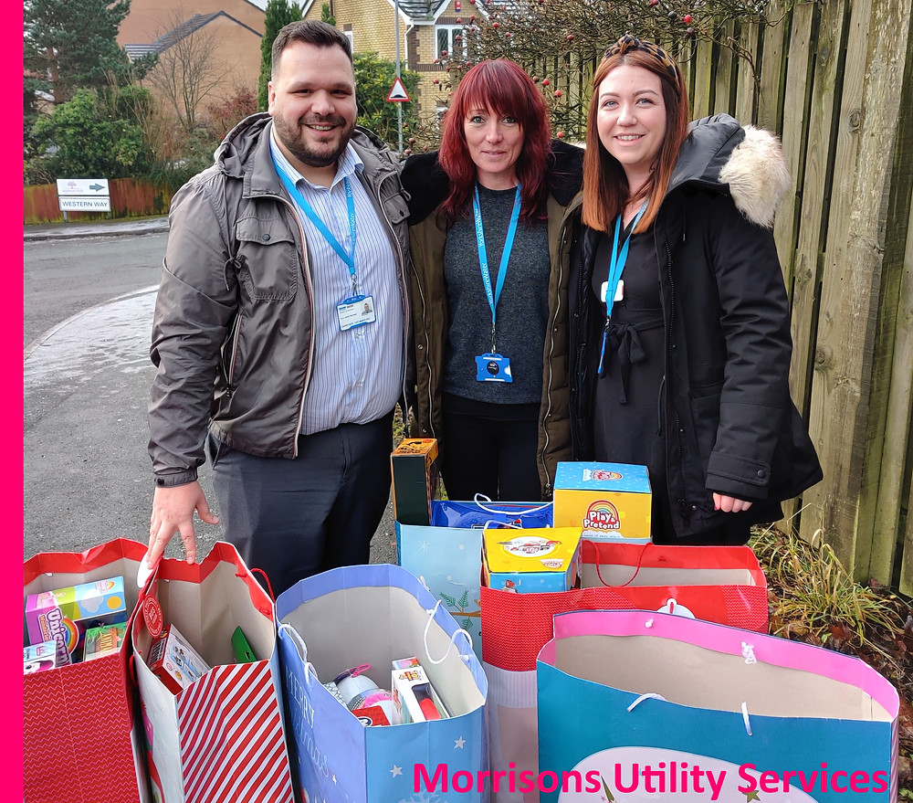 Morrisons Utility Services are supporting Yorkshire Children's trust this Christmas time.