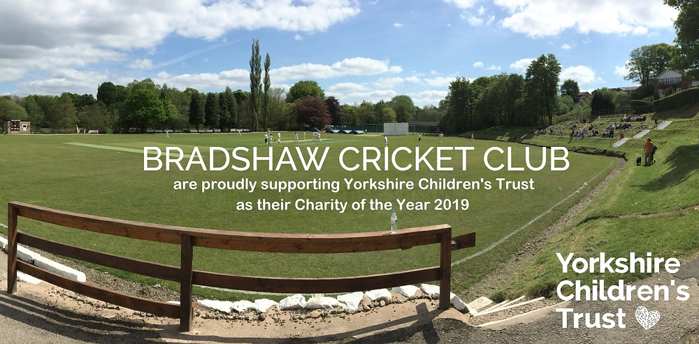 Bradshaw Cricket Club proudly supporting Yorkshire Children's Trust
