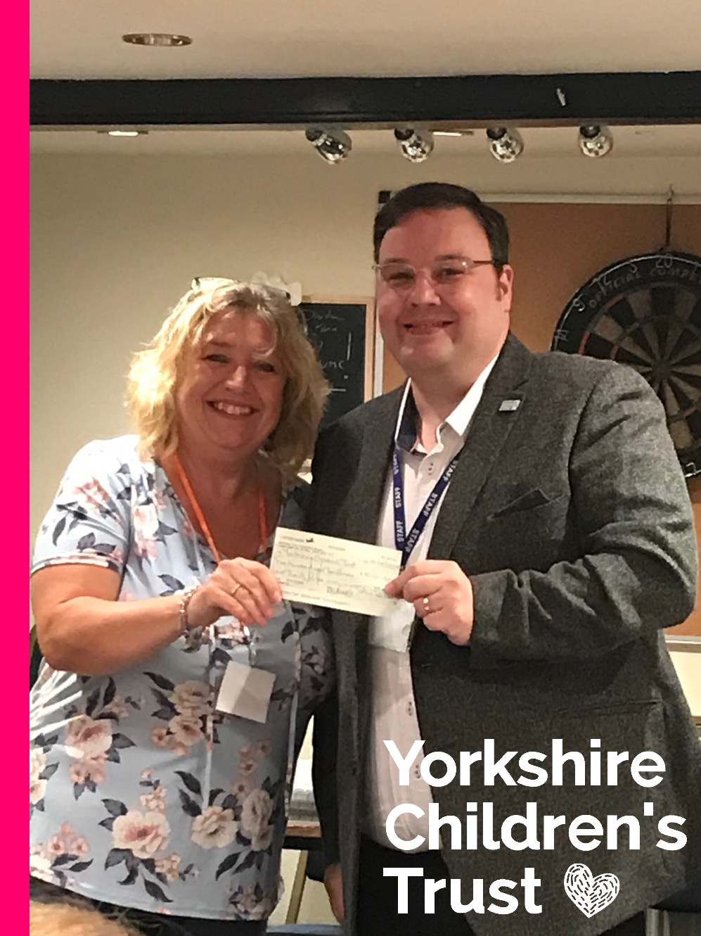 Norland WI supporting Yorkshire Children's Trust, a local charity, helping local children.
