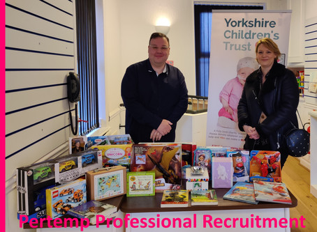 Lovely Gifts Donated by Pertemp Recruitment