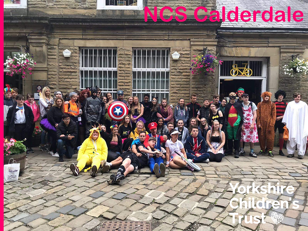 NCS Calderdale raising funds for Yorkshire Children's Trust with their 10K Walk