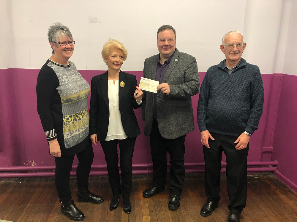 Penistone Ladies and Male Choir raised funds for YCT with their Christmas Concert
