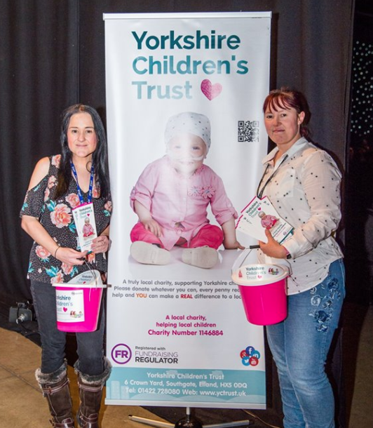 Leeds Got Talent raising money for Yorkshire Children's Trust, a local Yorkshire Charity.