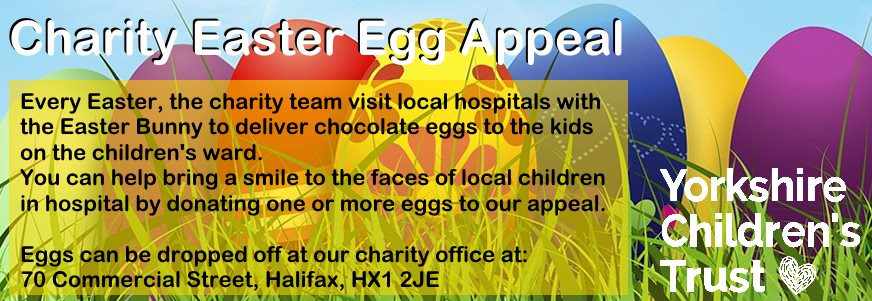 Our 2019 East Egg Appeal for Yorkshire Children's trust, a local charity, helping local children.