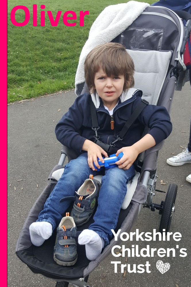 Oliver has received support from Yorkshire Children's Trust since 2015. You can help children like him by making a donation today.