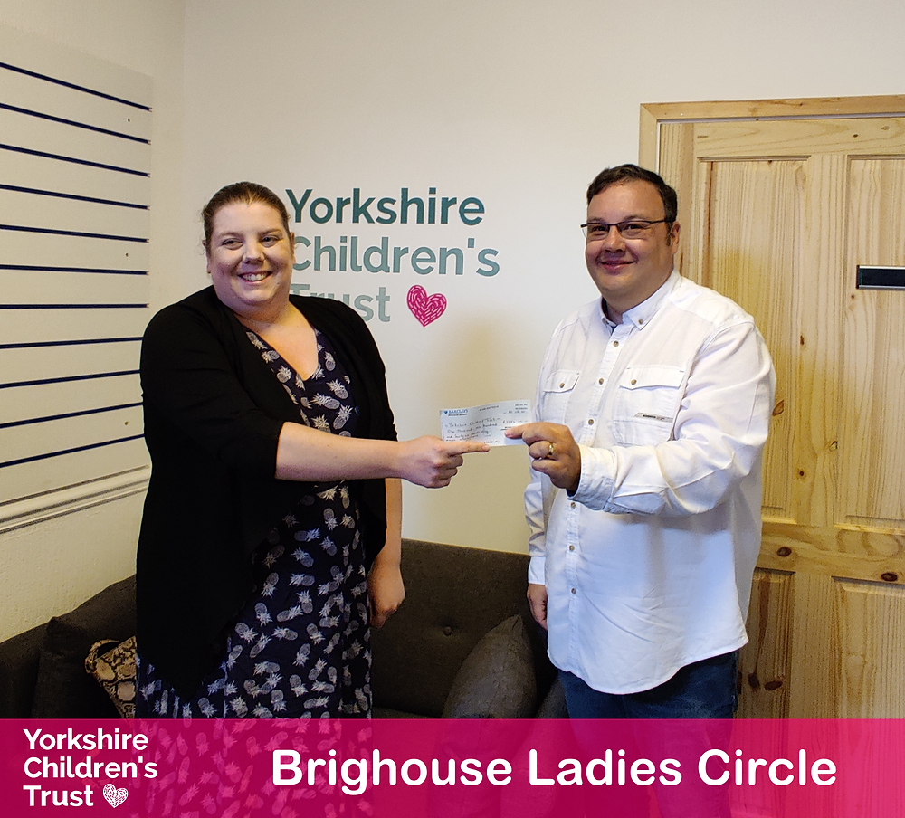 Brighouse Ladies Circle raise essential funds for local charity, Yorkshire Children's Trust