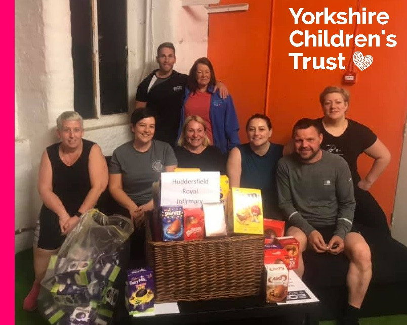 BodSquad 6 donate to Yorkshire Children's Trust for Huddersfield Royal Infirmary