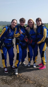 JLA Ripponden are raising money for Yorkshire Children's Trust with a charity Sky dive.
