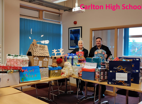Carlton High School donate big to YCT Appeal