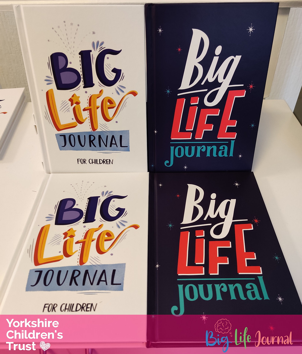 Big Life Journal supports Yorkshire Children's Trust with their diaries and journals to aid positive mental health