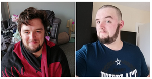Dan shaves off his lockdown mop head to raise funds for Yorkshire Children's Trust, a local children's Yorkshire charity