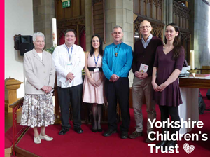 St. Martin's Church in Brighouse raised £2250 for Yorkshire Children's Trust at their annual Jigsaw Festival