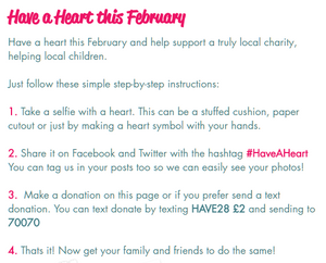 Have a heart this February for Yorkshire Children's Trust