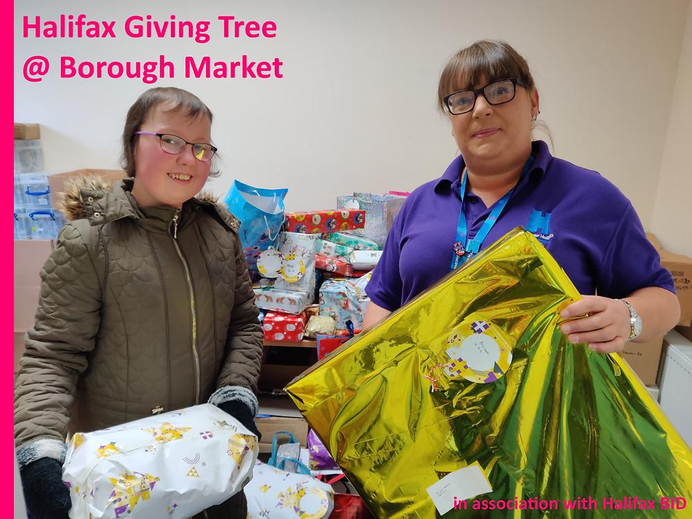 Halifax Giving Tree in association with Halifax BID
