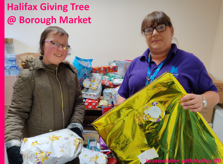 Charity Giving Tree a Great Success!!