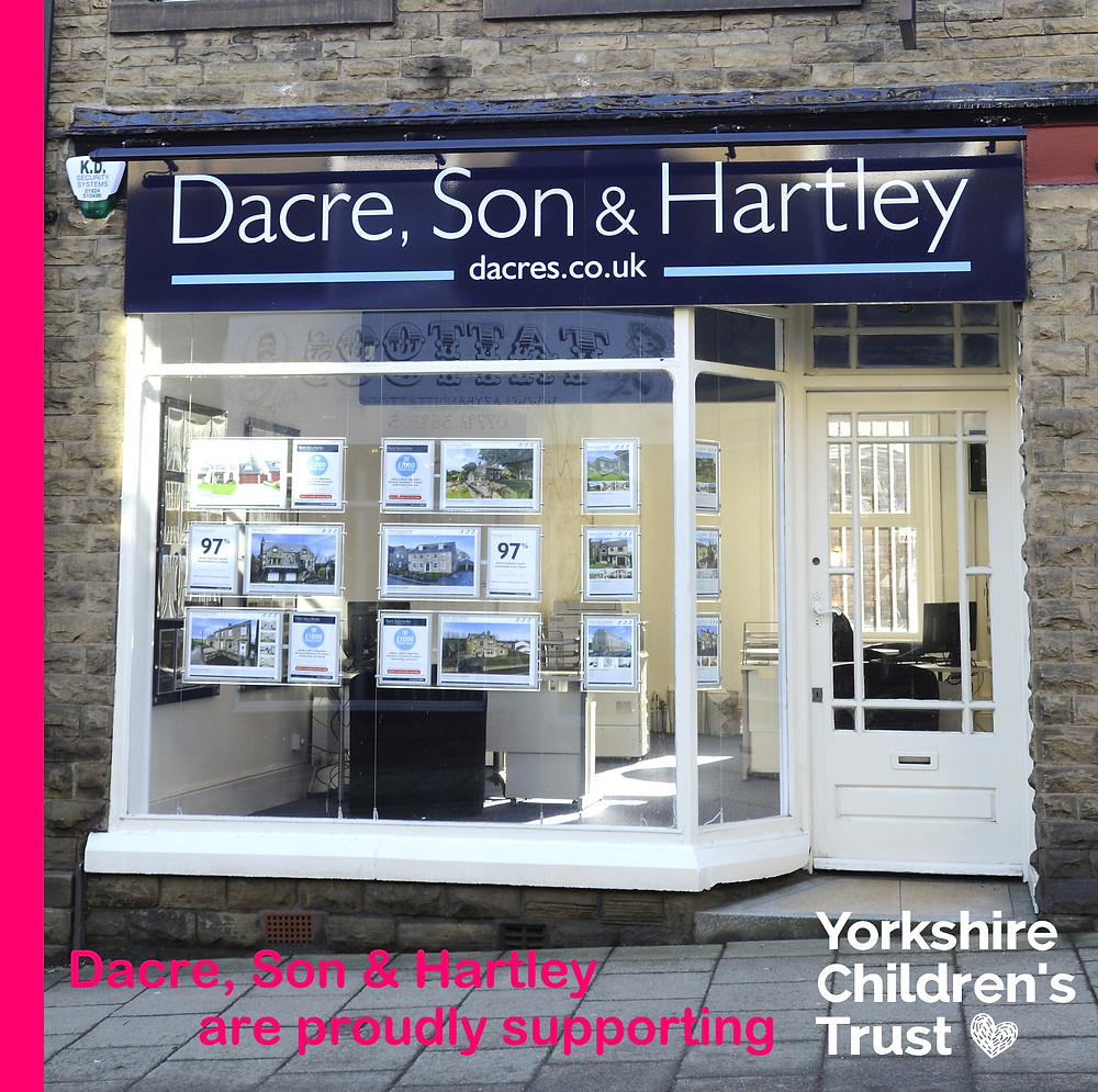 Dacre, Son & Hartley in Elland are proudly supporting Yorkshire Children's Trust, a local charity, helping local children.