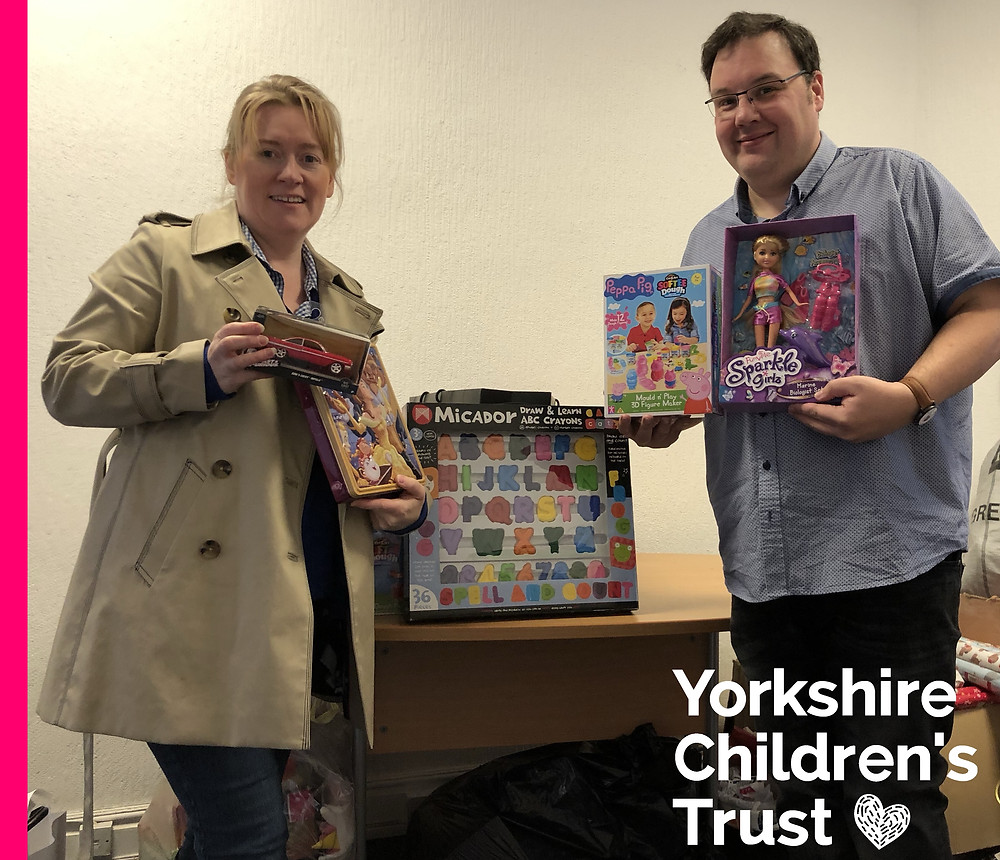 Xalient have supported Yorkshire Children's Trust with their present appeal this year.