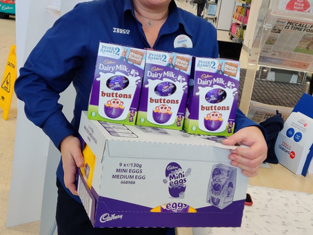 Queensbury Tesco donate to Appeal
