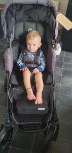 Hugo was supported with a specialist buggy from Yorkshire Children's Trust