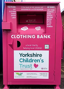 Yorkshire Children's Trust, Static Clothing bank hosted by RMSC Ltd