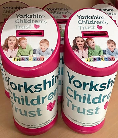 chartity tins, collection tins, change tins, fundraise, change collection, small business