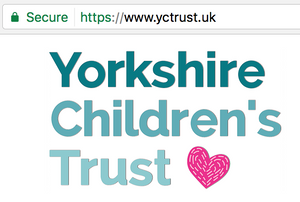 Yorkshire Children's Trust is a 100% safe and secure website using the latest SSL encryption methods for your safety and security. Always look out for the https:// in the address bar.