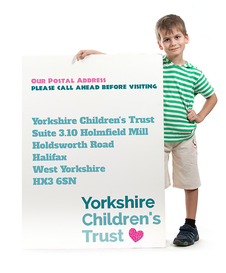 Yorkshire Children's Trust, Holmfield Mill, Halifax, HX3 6SN, Charity 1146884