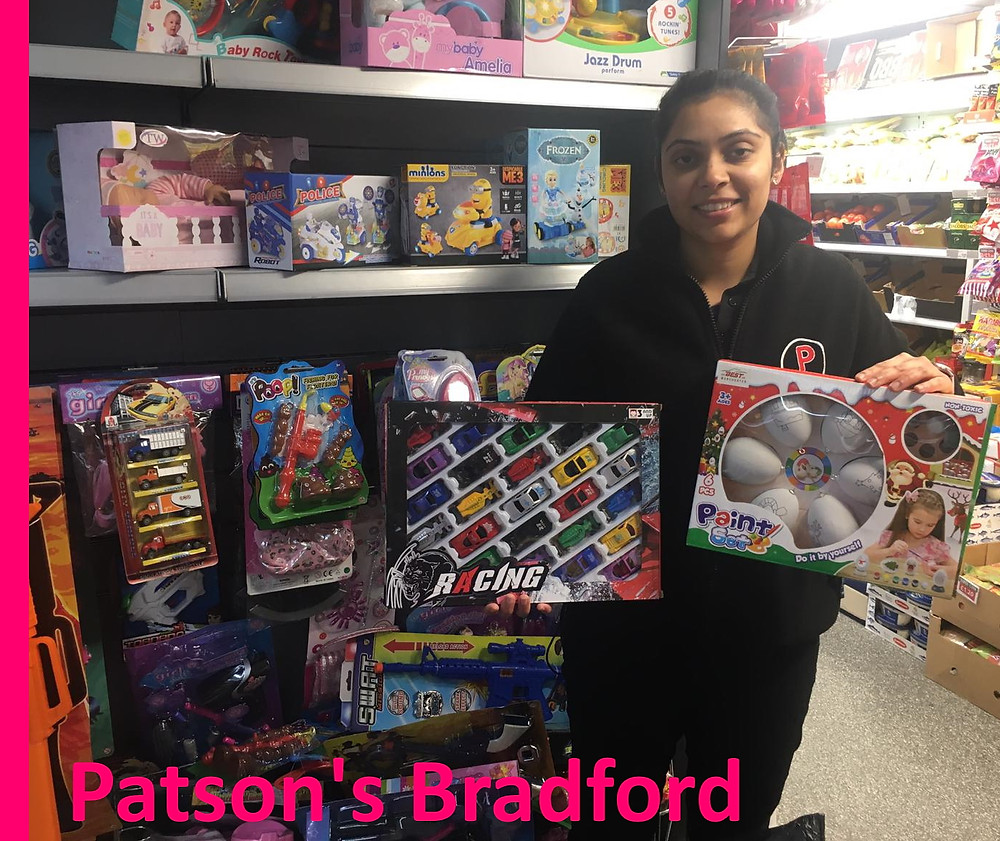 Patsons in Bradford are pleased to support the Yorkshire Children's Trust Xmas Appeal 2019