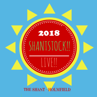 Shantstock 2018 at Shant in Holmfield is a music festival in Yorkshire raising money for Yorkshire Children's Trust