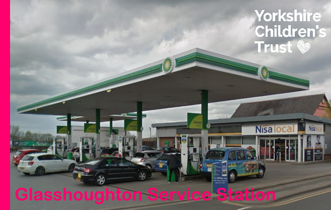 BP supporting Yorkshire Children's Trust, a local charity, helping local children.