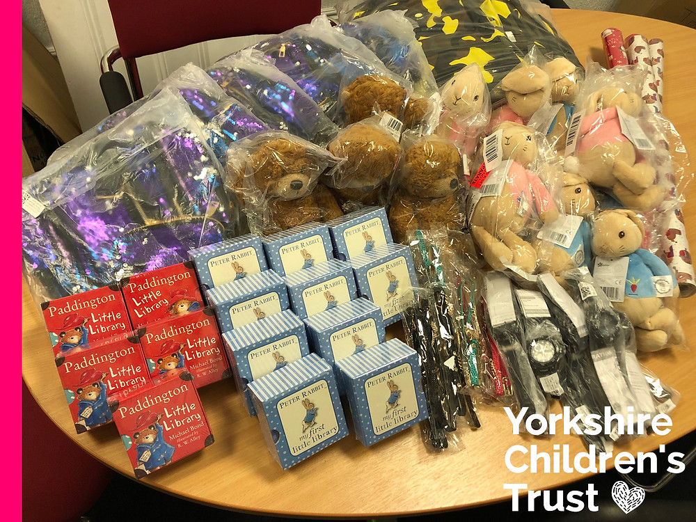 Wilby Ltd in Halifax have supported the Yorkshire Children's Trust Christmas Appeal with a massive bundle of gifts and toys.